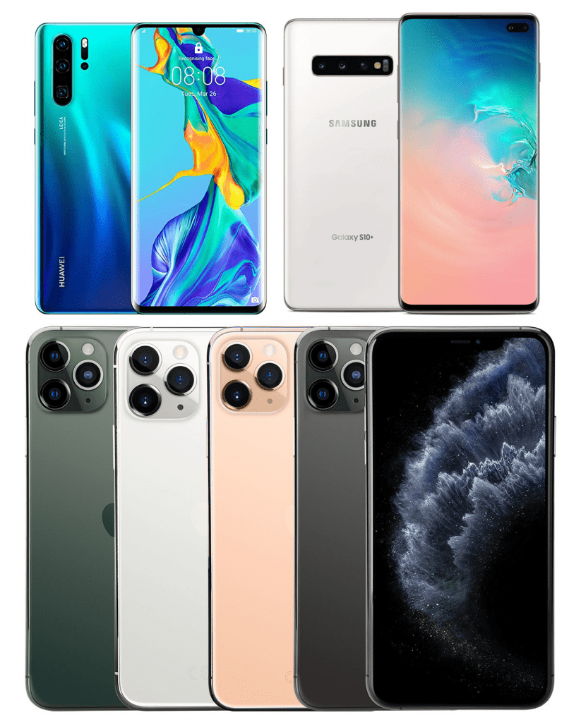 Top 5 Smartphones of the Year 2019